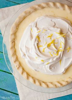it doesn't get better than this sour cream lemon pie recipe