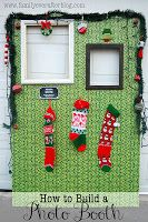 Build your own photo booth for an ugly Christmas sweater party! For more ugly Ch… - Noel - christmas Tacky Christmas Party, Christmas Photo Booth, Tacky Christmas Sweater, Noel Christmas, Christmas Photos, Christmas Crafts, Christmas Ideas, Christmas Photobooth Backdrop, Xmas Party Ideas