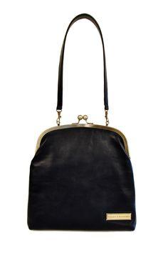 Shoptiques — Single Clasp Leather Bag