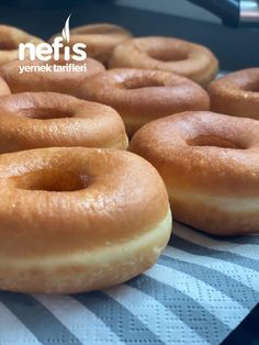 Food Words, Turkish Recipes, Food Humor, Doughnuts, Bagel, Biscotti, Donut, Food And Drink, Bread