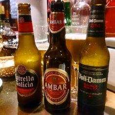 スペインビール!