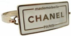 Chanel Mademoiselle Plaque Bracelet Profile Photo