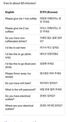 Korean Verbs, Korean Slang, Korean Phrases, Korean Words Learning, Korean Language Learning, Learn Korean Alphabet, Korean Letters, Learning Languages Tips, Korean English