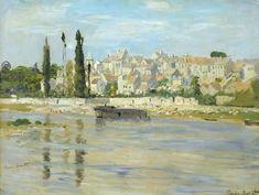 Titre de l'image : Claude Monet - Carrieres-Saint-Denis