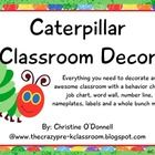 Here is everything you need to decorate a fun and colorful classroom with the Very Hungry Caterpillar. With over 170 pages and many editable featur...