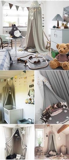 220cm Grey Round Dome Bed Canopy Kids Reading Play Tents Cotton Mosquito Net Bed Valance & Cheetah Hot pink BED Canopy CROWN Princess SaLe Silver Upholstered ...