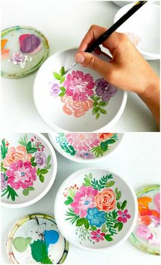 Diy Discover Painted Floral Wooden Bowls Spring Craft and DIY Ideas Pottery Painting Designs Pottery Designs Paint Designs Pottery Ideas Wooden Art Wooden Bowls Wooden Crafts Ceramic Painting Diy Painting Pottery Painting Designs, Pottery Designs, Paint Designs, Pottery Ideas, Pottery Painting Ideas Easy, Ceramic Painting, Ceramic Art, Ceramic Pottery, Ceramic Bowls