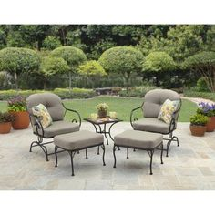 12 best patio set images outdoors outdoor life outdoor living rh pinterest com