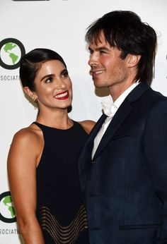 Ian Somerhalder and Nikki Reed at the EMA Awards 2016 | POPSUGAR Celebrity