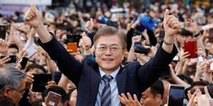 The election of Moon Jae-In could mark the beginning of new North-South relations. #technology #photography #amazing #internet #newsoftheday #news #bestoftheday #wearabletechnology #wearables