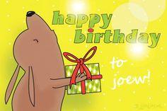 "Gratis e-card: ""Happy+birthday!"""