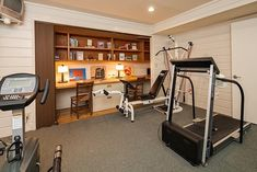 Yarrow Point Water Front Home - contemporary - home gym - seattle - Seattle Staged To Sell