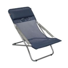 Lafuma Transabed Folding Reclining Chair Fabric: Transabed