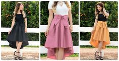 This beautiful skirt is sure to catch your fancy - it's so perfect for adding a romantic detail to any look!