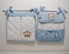 Duo de Bolsas Porta Fraldas - Príncipe