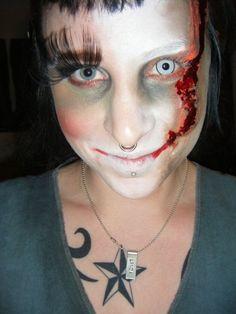 My winning halloween makeup!