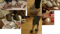 Satyr Hooves Progression by maethebellydancer