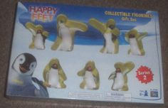 Happy Feet Collectible Figurines Gift Set by Thinkway Toys. $99.99. Series 2. Gloria, Mumble and the Five Amigos figures