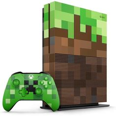 Get Xbox One S Limited Edition Console - Minecraft Bundle [Discontinued] by best price! Fast shipping for your Xbox One S Limited Edition Console - Minecraft Bundle [Discontinued]. Xbox 360, Xbox One S 1tb, Xbox Xbox, Console Xbox One, Microsoft, Gears Of War, Control Xbox, Minecraft Welten, Mundo Dos Games