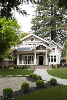CURB APPEAL – another great example of beautiful design. Mill Valley classic cottage with a traditional exterior near san francisco by Heydt Designs.