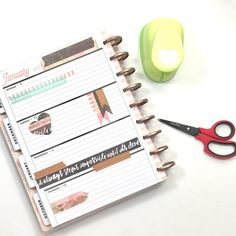 Rose Gold Washi Tape + theCLASSIC 'Rose Gold Horizontal' Happy Planner®by mambi Design Team member Liz Nielson | me & my BIG ideas