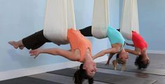 aerial yoga - where can I do this? Zen, Om Shanti Om, Aerial Yoga, Life Philosophy, What Is Like, Stay Fit, Fun Workouts, Exercise, Fitness