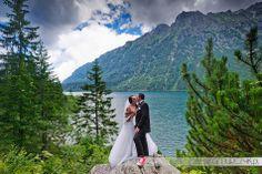 Plener ślubny w górach. Angelika i Rafał nad Morskim Okiem