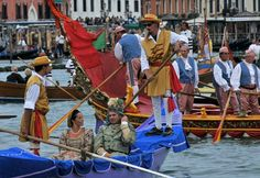 Every year, on the first Sunday of September, the Historical Regatta is held in Venice.