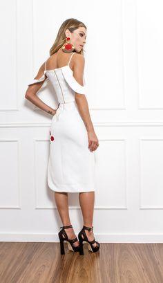 CONJUNTO MIDI DETALHE FLORAL - CJ19168-99 | Skazi, Moda feminina, roupa casual, vestidos, saias, mulher moderna
