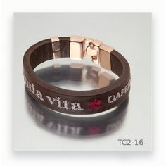 Unisex, Leather Bracers, Brown Leather, Hand Embroidery, Fashion Bracelets, Men's Leather, Wardrobe Capsule, Steel, Silver