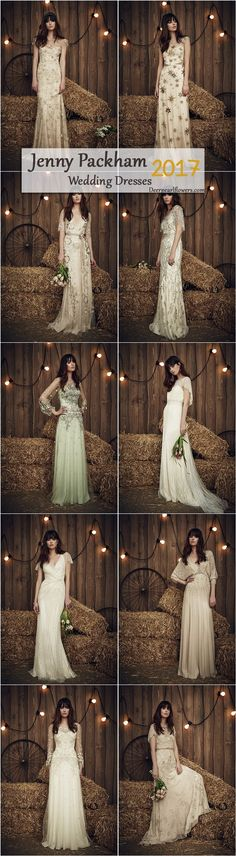 Jenny Packham Country 2017 Wedding Dresses / http://www.deerpearlflowers.com/rustic-country-wedding-dresses-from-jenny-packham/2/