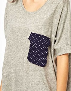 DIY Patch Pocket Shirt