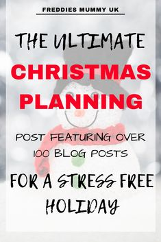 ULTIMATE CHRISTMAS PLANNING WITH OVER 100 BLOG POSTS TO HELP HAVE A STRESS FREE HOLIDAY Christmas Books For Kids, Christmas On A Budget, Christmas Eve Box, Christmas Fairy, Christmas Gift Guide, Christmas Music, Christmas Activities, Christmas Printables, Family Christmas