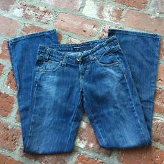 Miss sixty size 26 jeans Great condition and super cute!!  Size 26x32. 99%cotton and 1% spandex. Inseam measures 31.5 inches. Waist to crotch measures 7.5 inches. Waist measures 32.5 inches. Miss Sixty Jeans Boot Cut