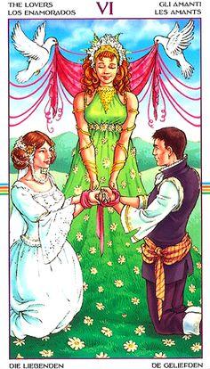 Wheel of the Year Tarot -- Lovers