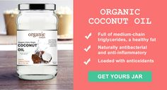 Organic Codes raw, extra virgin, cold pressed Coconut Oil - Full of Medium Chain triglycerides (MCT), A healthy fat Coconut Oil Uses, Organic Coconut Oil, Organic Oil, Healthy Fats, Coding, Jar, Cold, Medium, Jars