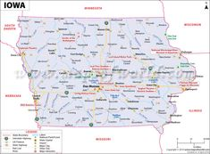 Illinois Map Showing The Major Travel Attractions Including Cities - Us map with points of interest