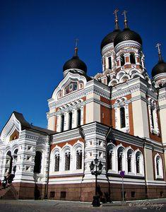 Tallinn, Estonia - Catedral Alexander Nevsky/ Alexander Nevsky Cathedral