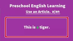Preschool English Learning use an article a or an   hey guys here I created of Preschool English Learning use an article a or an please see it and share with your friends if you live this videos so please subscribe my channel and like in my video. : Enjoy The Preschool English Learning use an article a or an right now! Meet Kids Songs music and funny videos Collection on our channel every day! Sing Songs for Babies and have a great time…