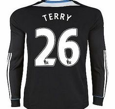 Chelsea Away Shirt Adidas 2011-12 Chelsea L/S Away Shirt (Terry 26) Buy the brand new Chelsea Long Sleeve away shirt for the 2011/12 Premiership season complete with John Terry shirt printing.The new Chelsea football shirt is manufactured by Adidas and is available in http://www.comparestoreprices.co.uk/football-shirts/chelsea-away-shirt-adidas-2011-12-chelsea-l-s-away-shirt-terry-26-.asp
