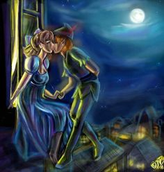 I think that Peter Pan will always love Wendy even though she grows up :)