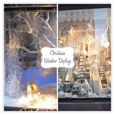 christmas window display - Bergdorf's