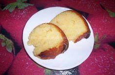 """- poslední dva kousky jsem zachránila na fotku :-D ... DOBROU CHUŤ!!!"""" Cornbread, Cake Recipes, Pork, Meat, Baking, Ethnic Recipes, Cakes, Lemon, Millet Bread"""