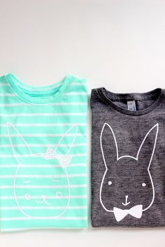bunny tees are my fave