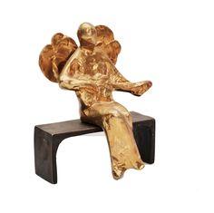 Angel playing the guitar Sculptures, Lion Sculpture, Art Object, Art Studios, Mosaic, Art Gallery, Objects, Bronze, Studio Art