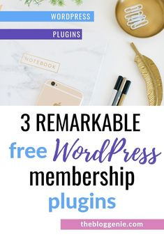 Need free membership plugins for WordPress? Here are 3 brilliant options to help… Need free membership plugins for WordPress? Here are 3 brilliant options to help you restrict your content to customers only Learn Wordpress, Wordpress Plugins, Wordpress Demo, Wordpress Free, Wordpress Admin, Ecommerce, Wordpress Website Design, Free Blog, Blogging For Beginners