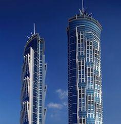 Il marmo Crema Marfil di Levantina per l'albergo più alto del mondo