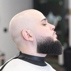 Bald With Trimmed Beard