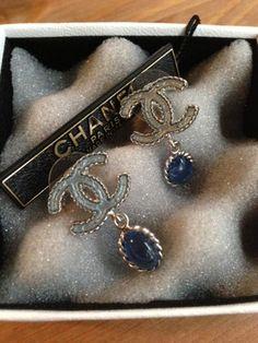 Chanel Double C Ear Rings
