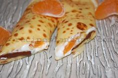 """Pancakes """"Night and Day"""" - Recipe explained step-by-step and with pictures Romanian Food, Romanian Recipes, Day For Night, Original Recipe, Crepes, Pancakes, Breakfast, Ethnic Recipes, Desserts"""